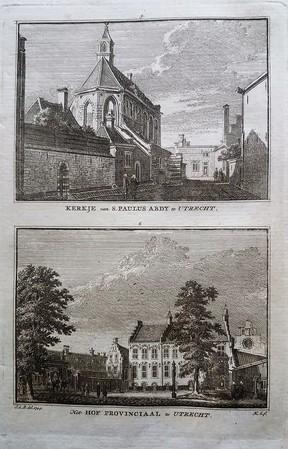 Utrecht. Paulusabdij. Hof van Utrecht.
