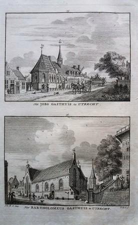 Utrecht. St. Jobsgasthuis. Bartholomeus Gasthuis.