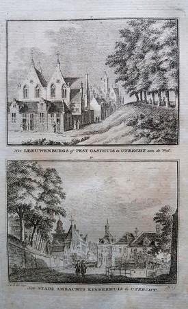 Utrecht. Stads-Ambachtskinderhuis. / Leeuwenbergh Gasthuis.