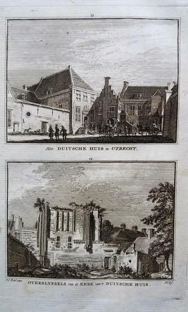 Utrecht. Duitse Huis.