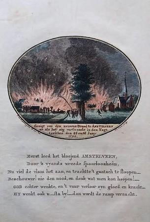 Amstelveen. A fire view in Amstelveen.