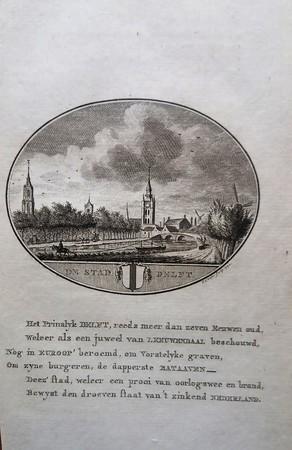 The city of Delft.
