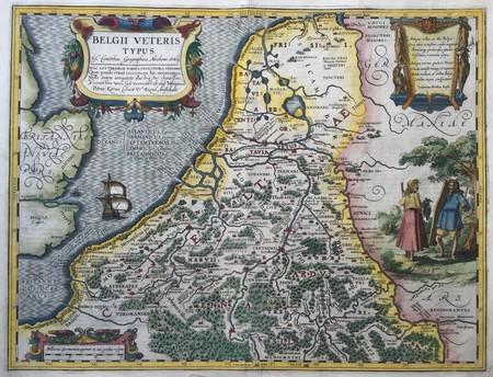 17 provinciën: de oude Nederlanden.
