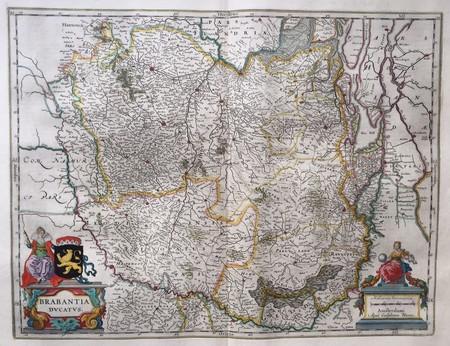 Brabant. Brabantia Ducatus.