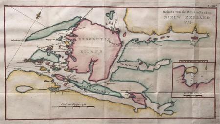 Nieuw-Zeeland. Dusky Bay 1773