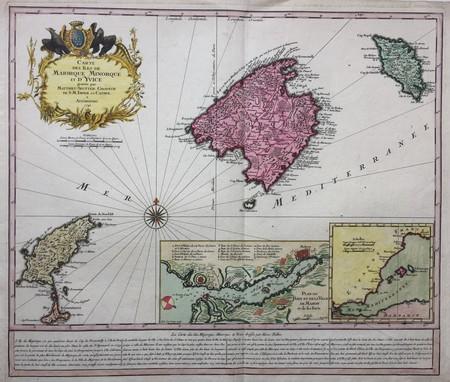 Spanje. Balearen: Majorca, Minorca, Ibiza, Formentera.