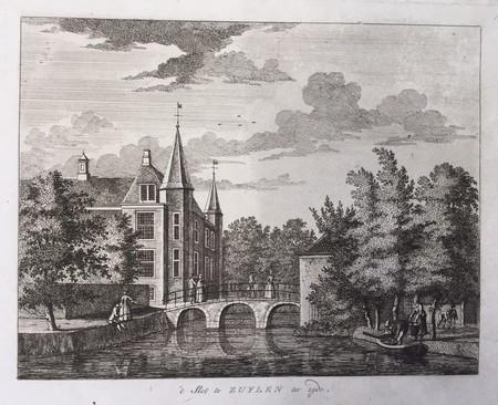 Oud-Zuilen. Zuylen Castle