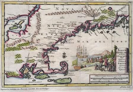 Noord-Amerika. New England.
