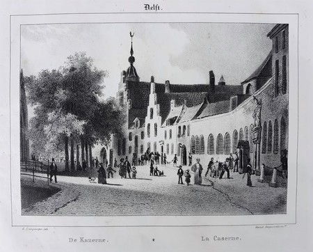 Delft. Barracks