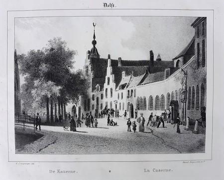 Delft. Kazerne