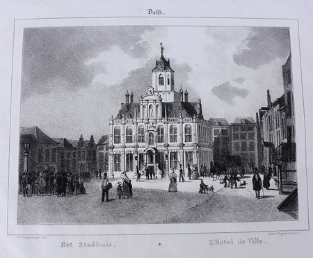 Delft. Town Hall