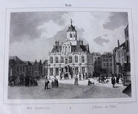 Delft. Stadhuis