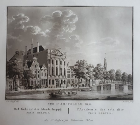 Amsterdam. Keizersgracht: Felix Meritis.