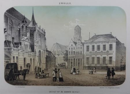 Zwolle. Grote Markt.