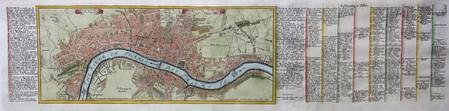 England. London. Plan of London.