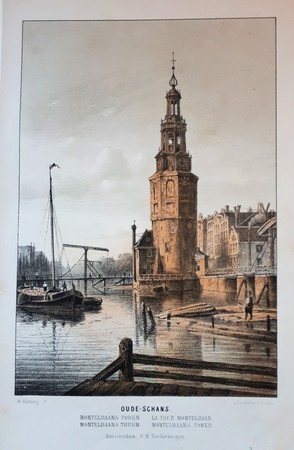 Amsterdam. Oude-Schans. Montelbaans Tower.