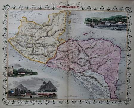 Central America. Guatemala. Belize. Honduras. Nicaragua. Costa Rica.