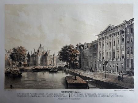 Amsterdam. Kloveniersburgwal. Trippenhuis.
