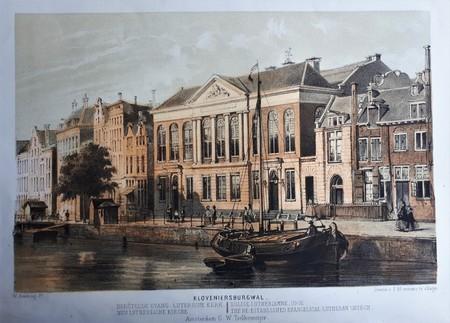 Amsterdam. Kloveniersburgwal. Compagnietheater.