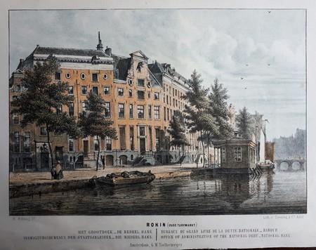 Amsterdam. Oude Turfmarkt. Allard Pierson Museum. UvA.