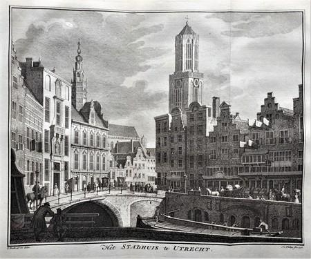 Utrecht. Stadhuis. Dom Tower