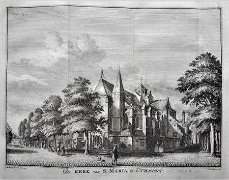 Utrecht. Mariakerk.