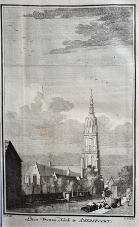 Amersfoort. Lieve Vrouwekerk- en toren.