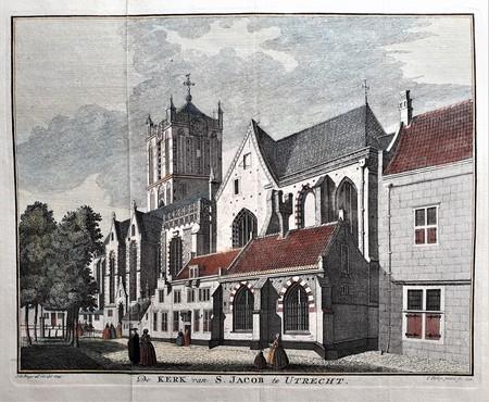 Utrecht. Jacobskerk.