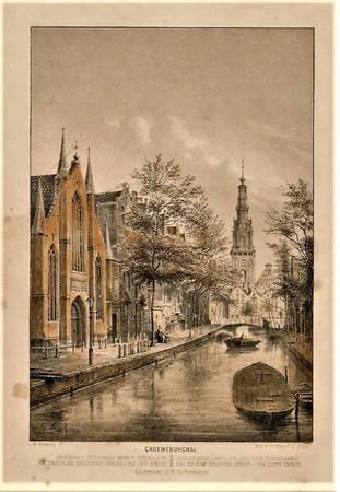 Amsterdam. Groenburgwal.