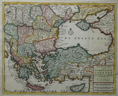 Turkije. Griekenland. Balkan.