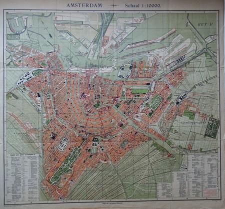 Amsterdam. Plan of Amsterdam.