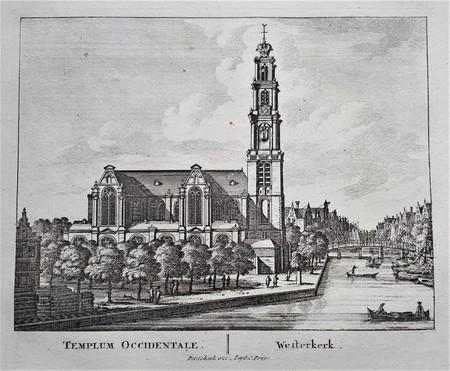 Amsterdam. Westerkerk