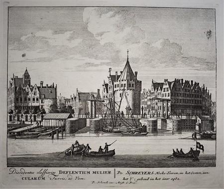 Amsterdam. Schreierstoren.