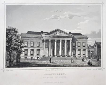 Leeuwarden. Paleis van Justitie.