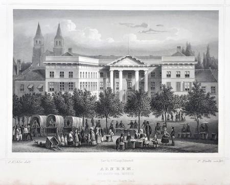Arnhem. Justice palace.