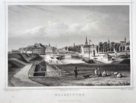 Vlissingen. Panorama view