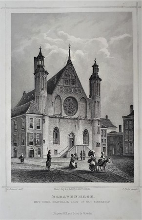 The Hague. Binnenhof 's-Gravenhage.